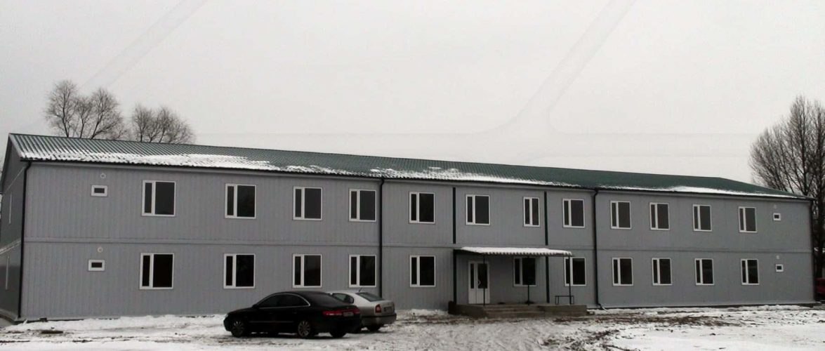 Водолазна школа отримає модульну адміністративну будівлю