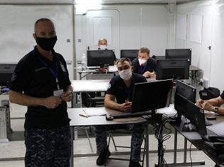 Командувач флоту перевірив штаб керівництва українсько-американського навчання «Сі Бриз-2020»