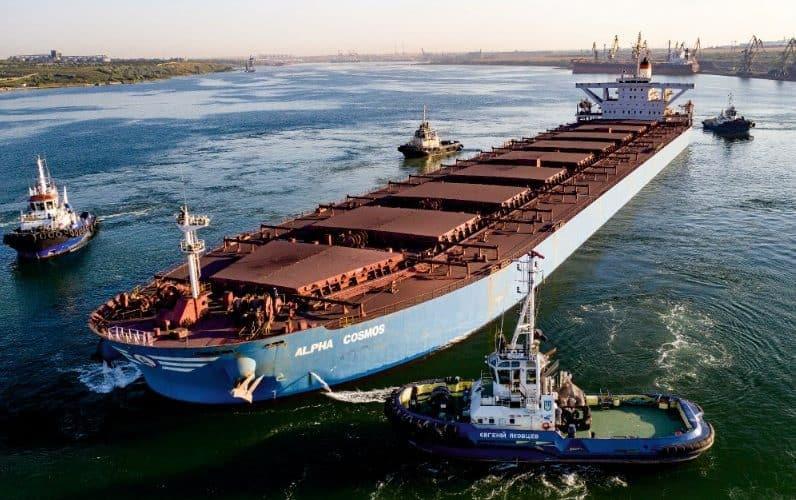 Оператори морського порту Південний обробили 12 млн 437 тис. тонн вантажів