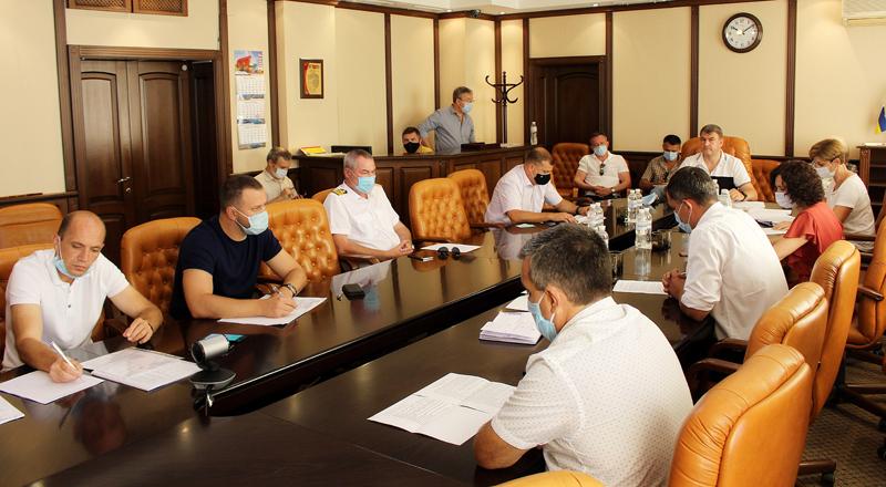 На Раді морського порту Чорноморськ проаналізували стан виконання Плану розвитку та обговорили заходи щодо його актуалізації