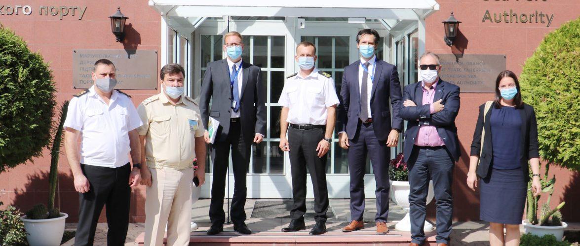 Маріупольську філію ДП «АМПУ» відвідала делегація Консультативної місії Європейського Союзу