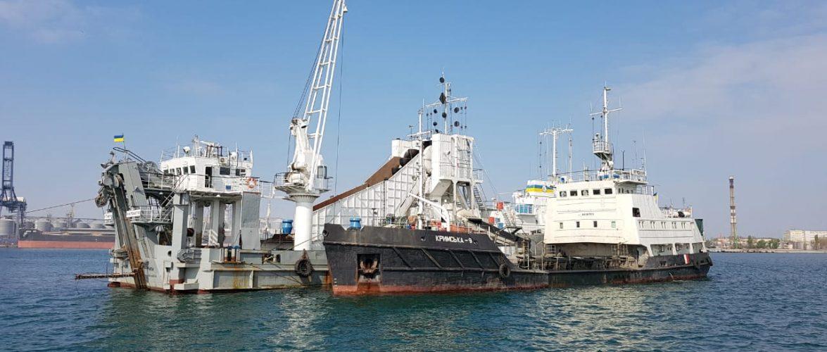 ДП «АМПУ» розпочало днопоглиблювальні роботи в акваторії морського порту Чорноморськ