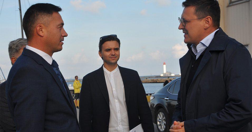 Делегація порту Гданськ побувала в Одеському порту