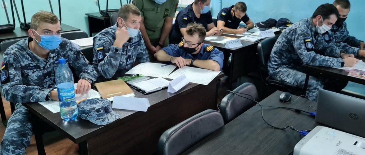 В Одесі вперше проходять курси у межах операції UNIFIER для військових моряків