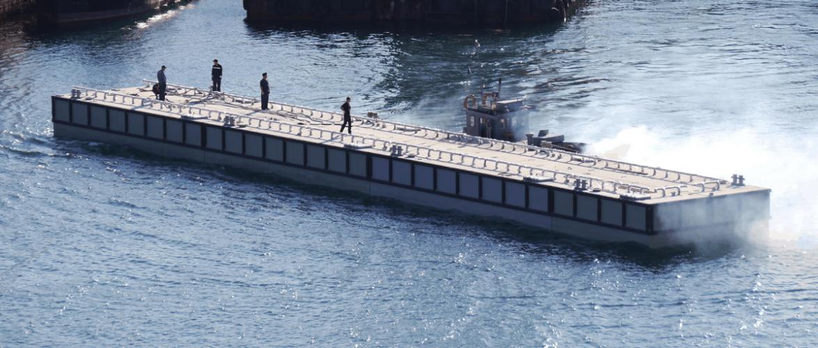 ДЗ «Палада» отримав контракт на будівництво плавучого причалу