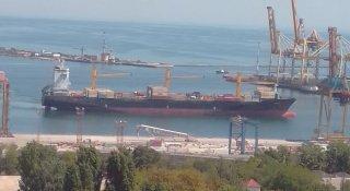 ДП «МТП «Чорноморськ» прийняв для обробки контейнерне судно