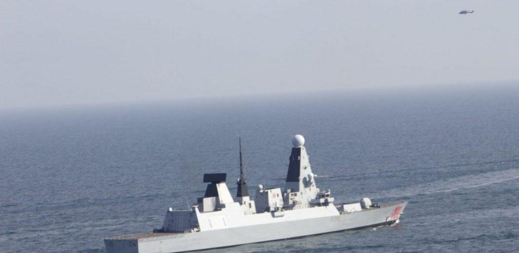 Катери ВМСУ тренувалися з есмінцем Британії