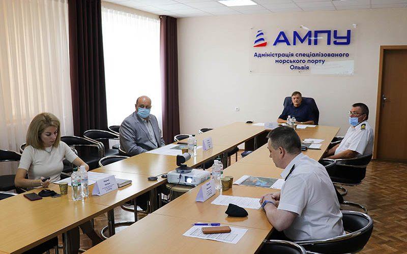 Рада порту підтримала проєкт Плану розвитку спеціалізованого морського порту Ольвія