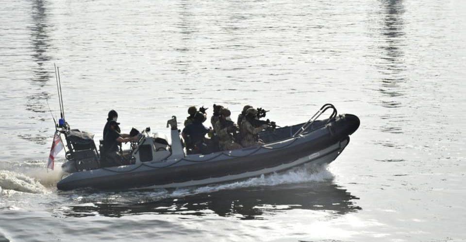 ССО України провели тренування на есмінці Великої Британії