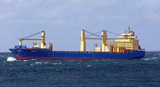 """Судно YU CHANG забрало із порту """"Чорноморськ"""" негабаритне обладнання (бурова вежа) вагою 3,5 тисячі тон"""