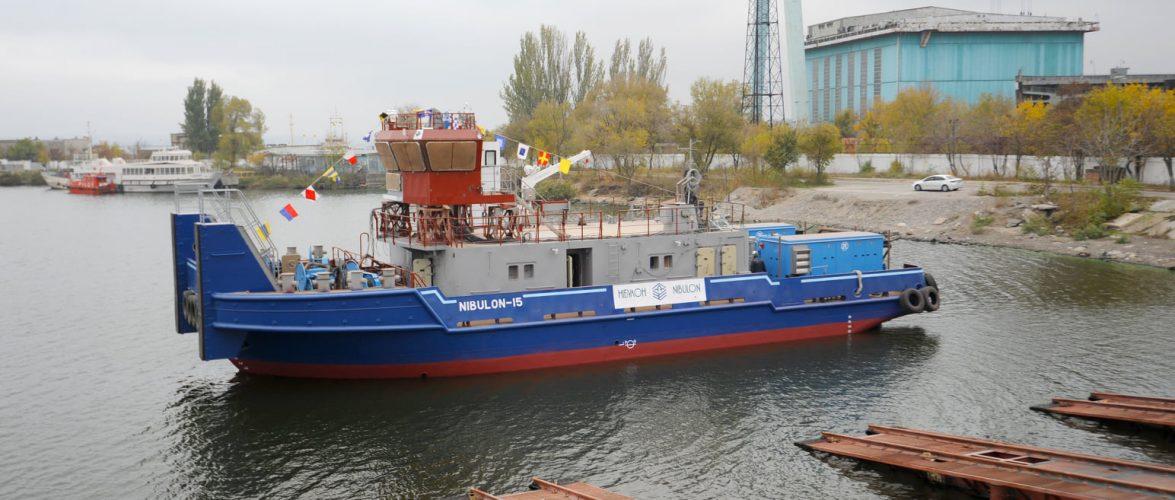Суднобудівно-Судноремонтний завод Нібулон спустив на воду четвертий буксир проєкту 121М