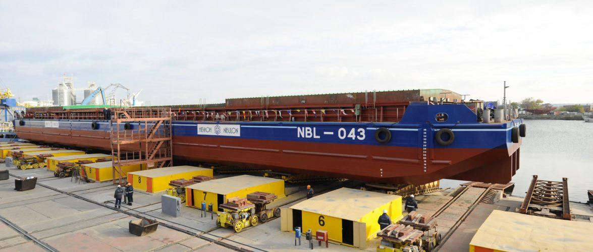 Компанія «НІБУЛОН» спустила на воду несамохідне судно проєкту NBL-91