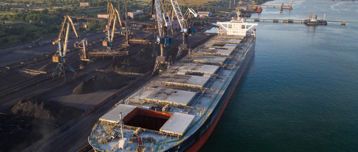 Морський торговельний порт «Южний» наростив вантажообіг на 28% за 10 місяців
