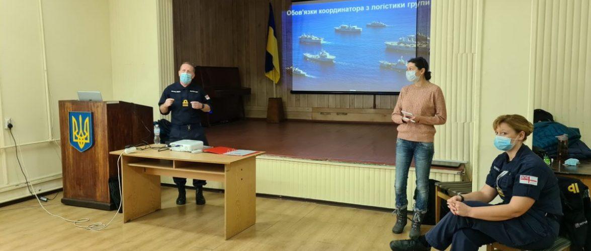 У Військово-Морських Силах України триває Курс планування логістичного забезпечення операцій відповідно до стандартів НАТО
