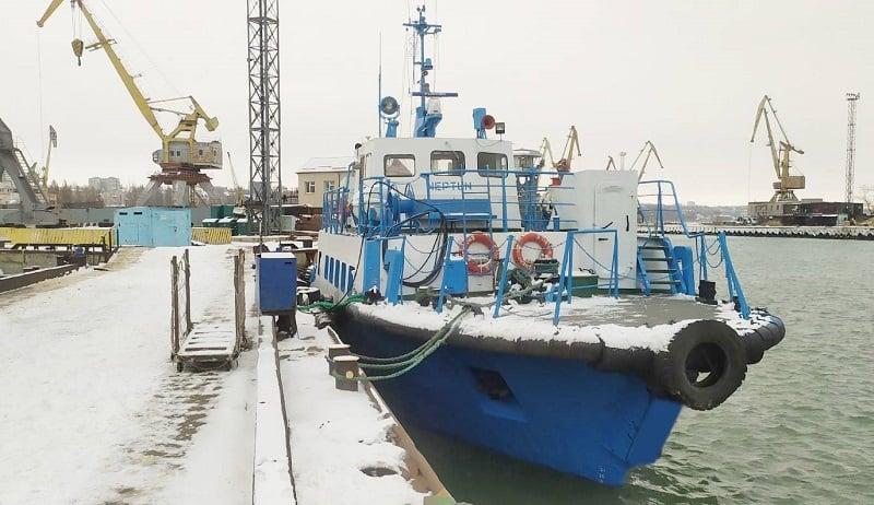 ТОВ «АЗОВ-ВЕРФЬ» завершило класифікаційний ремонт рейдового катеру «Нептун»