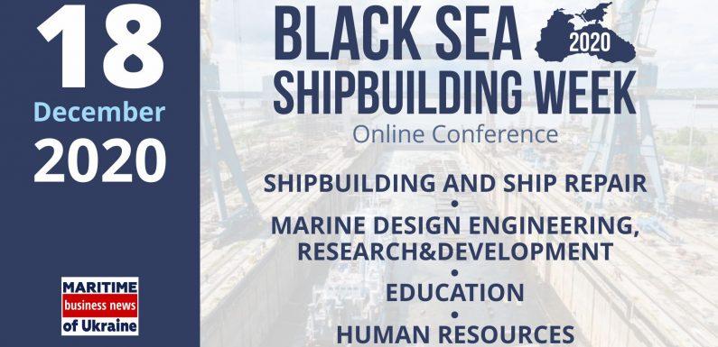 Black Sea Shipbuilding Week 2020