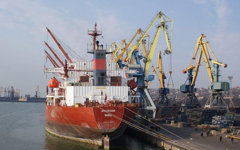 За підсумками 11 місяців Маріупольський морський порт перевантажив 6,5 млн. тон вантажів