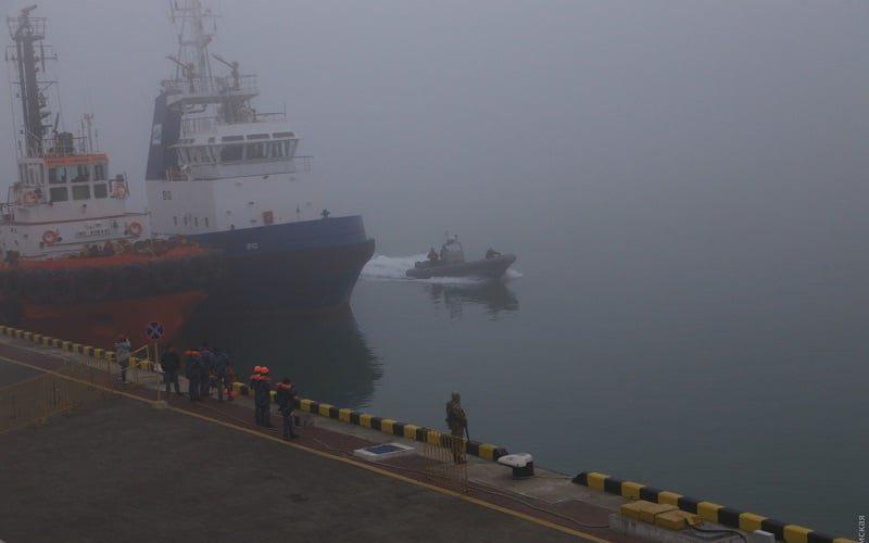 В портах Одеса, Чорноморськ, Південний, Миколаїв, Херсон обмежена лоцманська проводка через туман
