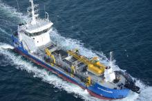 1,5 млн куб. м — об'єм днопоглиблення виконаний власним флотом філії «Дельта-Лоцман» за 2020 рік