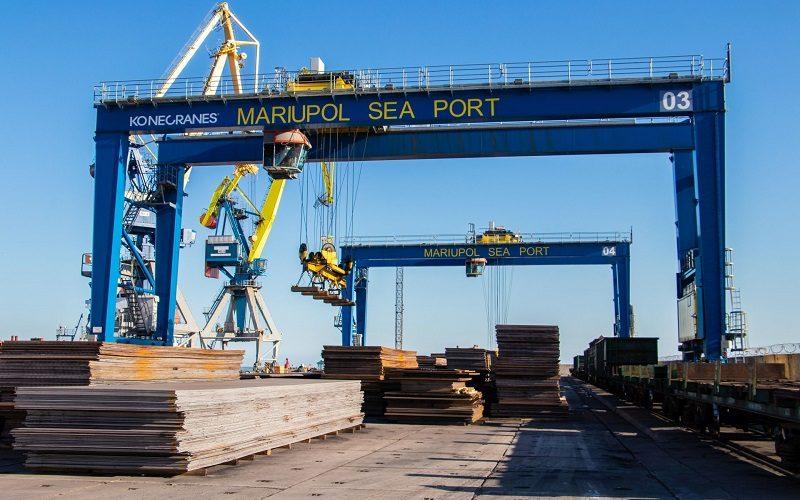Маріупольський порт – другий за обсягом перевалки чорних металів серед портів України