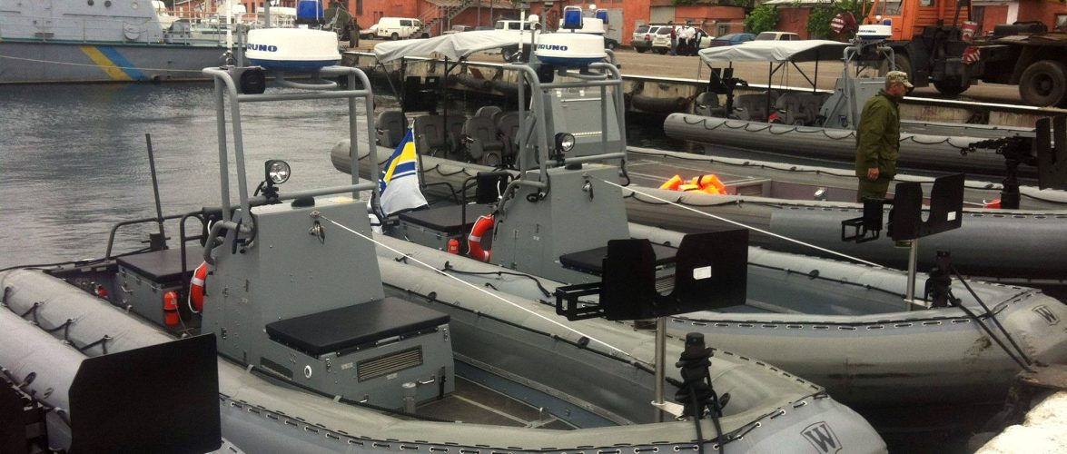 США передали ВМС України 84 човни