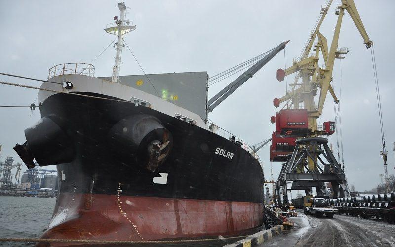 Чотирнадцять суден за три місяці – реконструйована частина причалу №7 Одеського порту ефективно працює на окупність коштів, витрачених на реконструкцію
