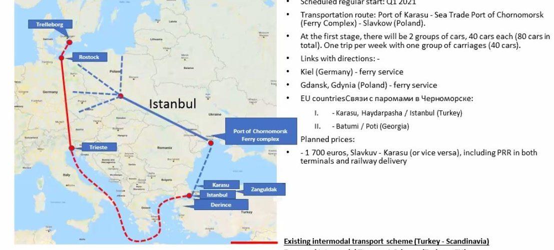 """Новий транспортний коридор може повернути транзит в порт """"Чорноморськ"""""""