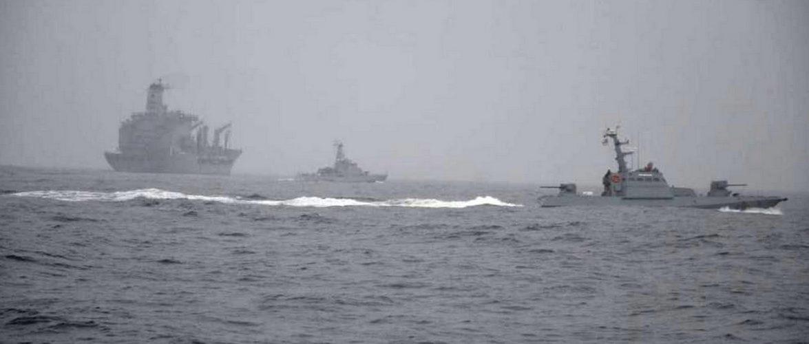 Українські ВМС провели тренування типу PASSEX з кораблями ВМС США