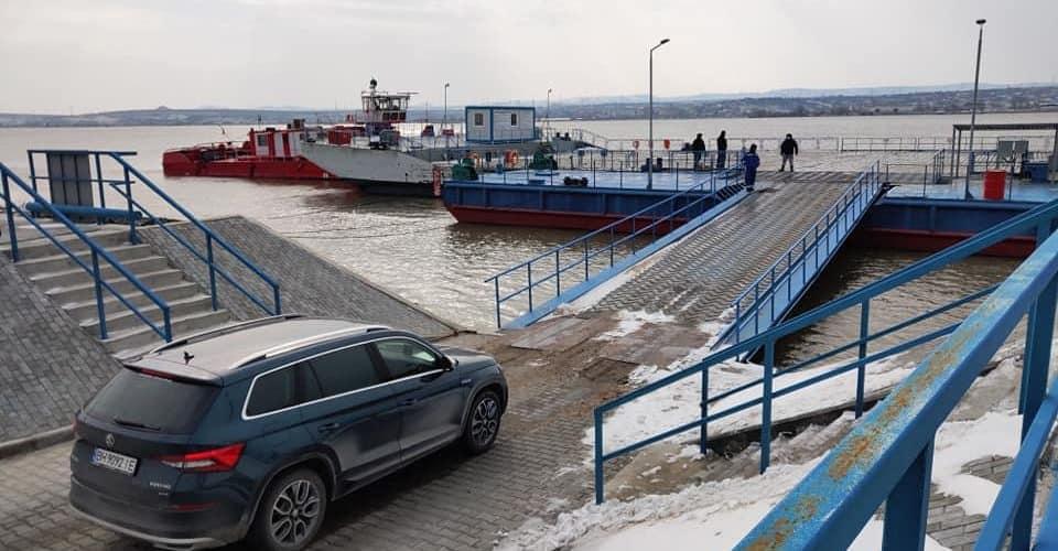 На поромній лінії Орлівка Україна – Ісакча Румунія був здійснений перший ранковий рейс
