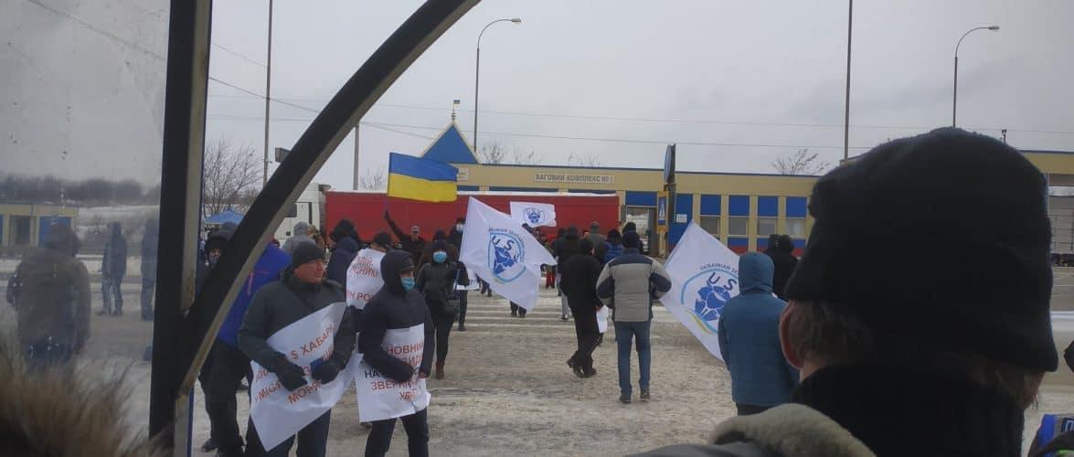(ФОТО, ВІДЕО) Огляд сьогоднішнього протесту моряків