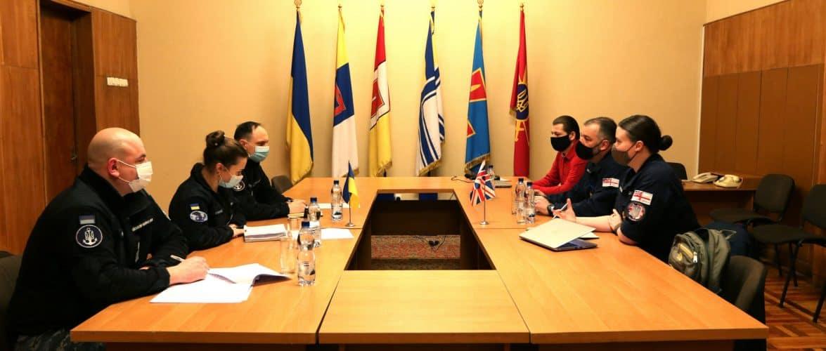 Триває координаційна зустріч між представниками ВМС України та штабу операції місії «ORBITAL»
