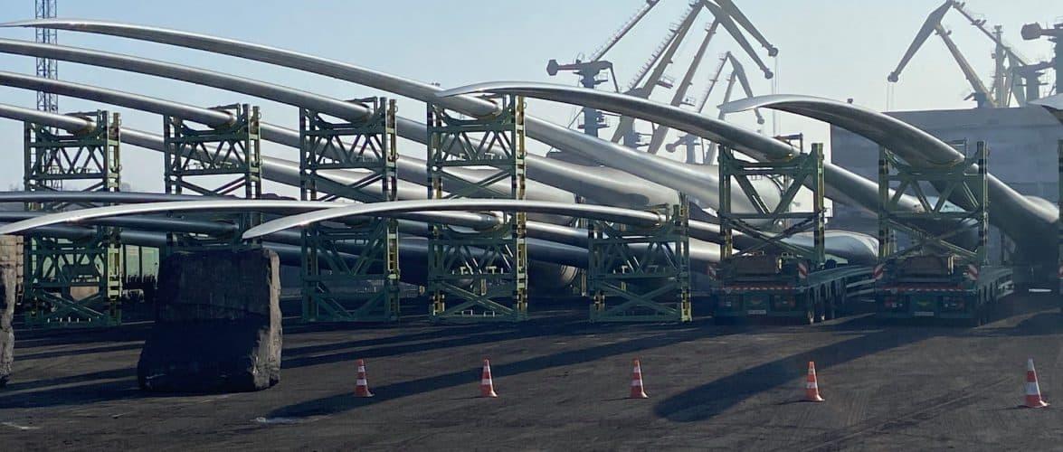 В МТП «Южний» було оброблено п'яте судно з елементами для вітроелектростанцій