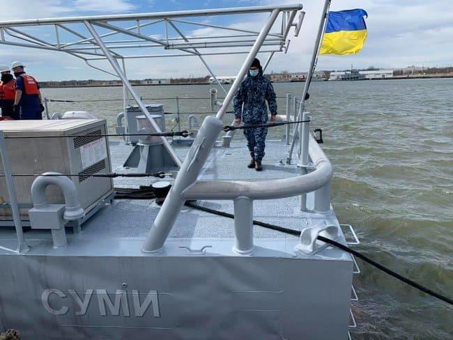 """Патрульні катери Island для ВМС України отримали імена """"Суми"""" та """"Фастів"""""""