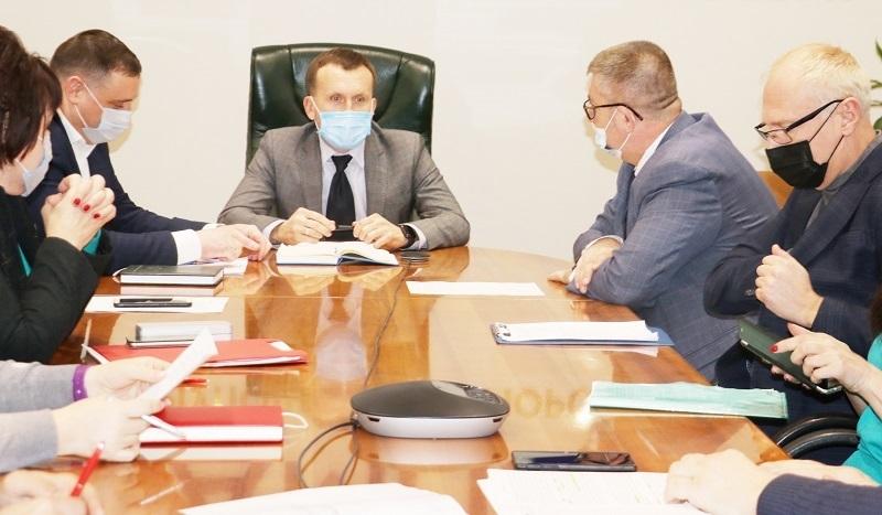 В Адміністрації Маріупольського порту відбулася спільна нарада між керівництвом Адміністрації та портового оператора ДП «Маріупольський морський торговельний порт»