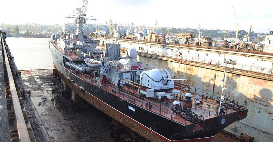 ВМС спише корабель «Вінниця» та два рейдових катери