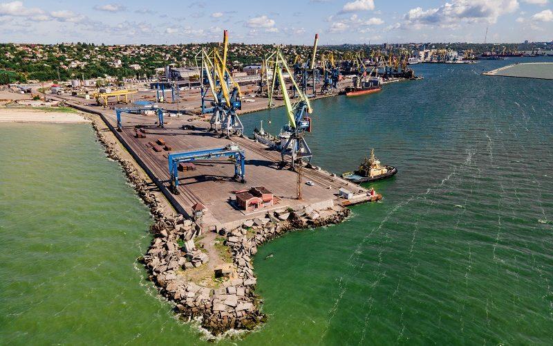 За 2 місяці вантажопереробка в Маріупольському морському порту склала – 1,11 млн. т