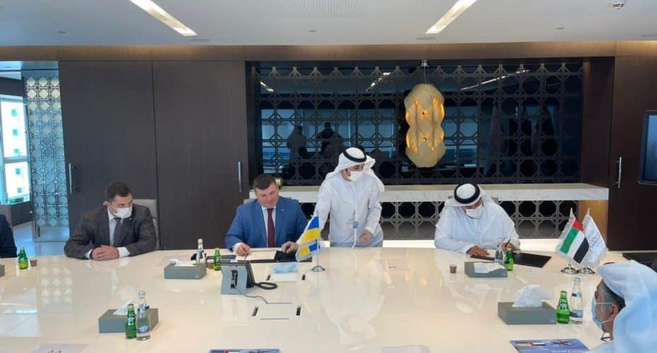 У межах офіційного візиту Володимира Зеленського до ОАЕ були підписані угоди між «Укроборонпромом», Tawazun Economic Council та EDGE Group про розширення військово-технічного співробітництва