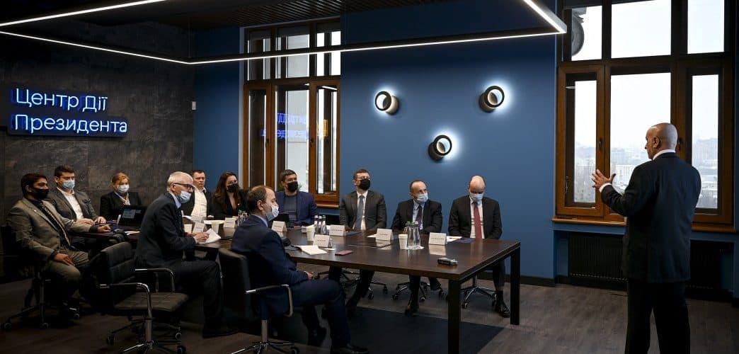 В Офісі Президента відбулася зустріч з представниками компанії DT World (ОАЕ), присвячена реформуванню української митниці
