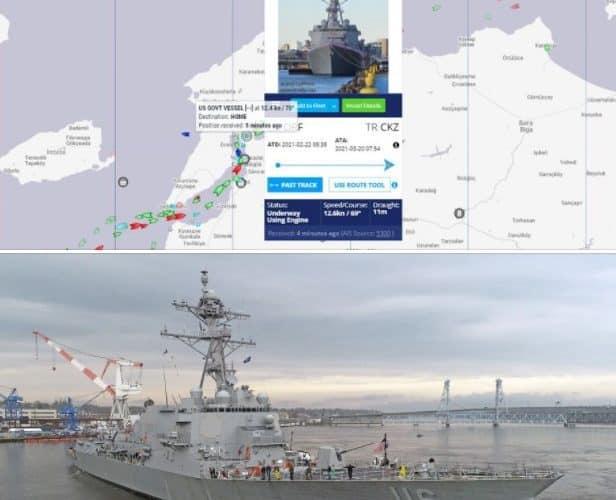 У Чорному морі незвично велика концентрація ракетних кораблів країн НАТО