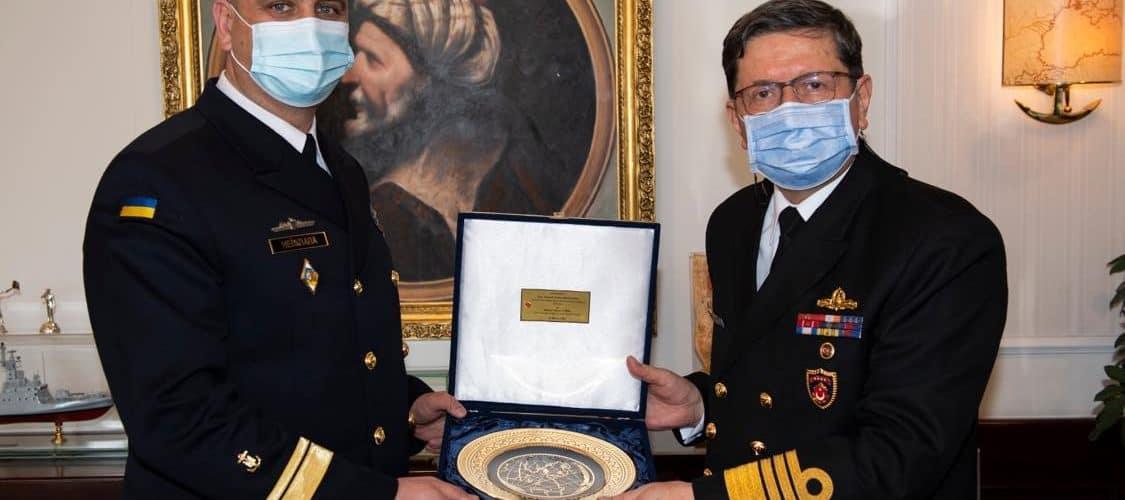 Відбулася зустріч командувачів ВМС України та Туреччини щодо безпеки в Чорноморському регіоні