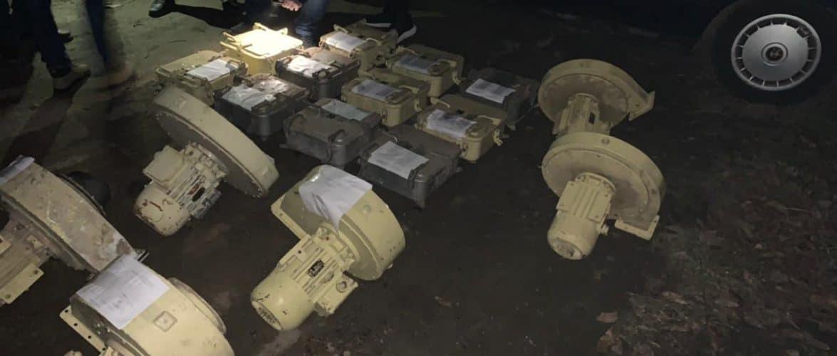 На Миколаївщині СБУ блокувала незаконне переправлення корабельного обладнання до РФ