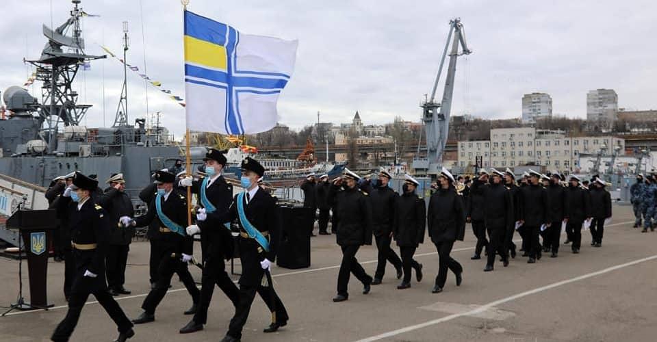 ВМС України вп'яте поповнились старшинським складом
