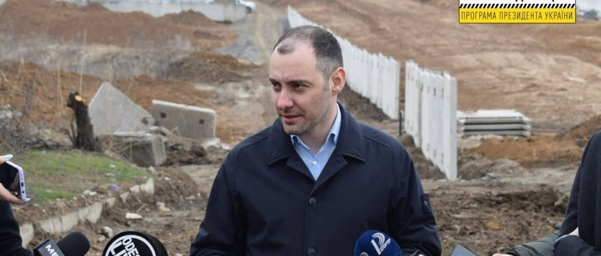 Велике будівництво: Укравтодор приступив до будівництва нової дороги до Одеського порту