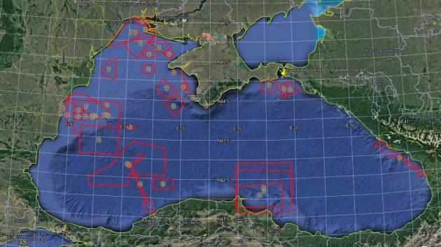 Приблизно 40% поверхні Чорного моря перекрито для військових навчань або небезпечні – Клименко