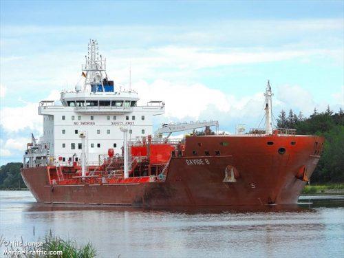 Пірати захопили танкер Davide B у Гвінейській затоці і викрали 15 членів екіпажу