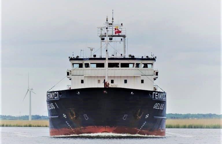 Херсонська верф Smart Maritime Group здала в експлуатацію суховантажне судно «Gelius 1»