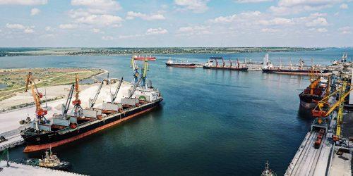 Порт «Ніка-Тера» перевалив перший мільйон тонн вантажів в 2021 році