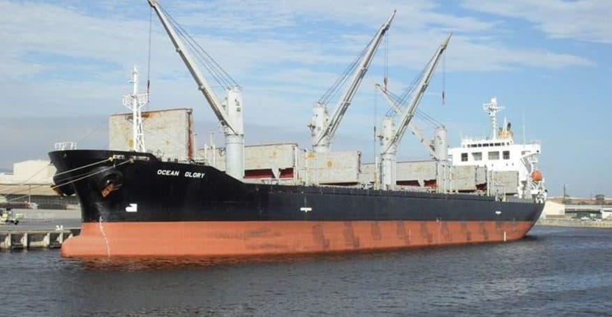 Суховантаж Ocean Glory доставив в Україну близько 350 тонн американського військового спорядження – ЗМІ