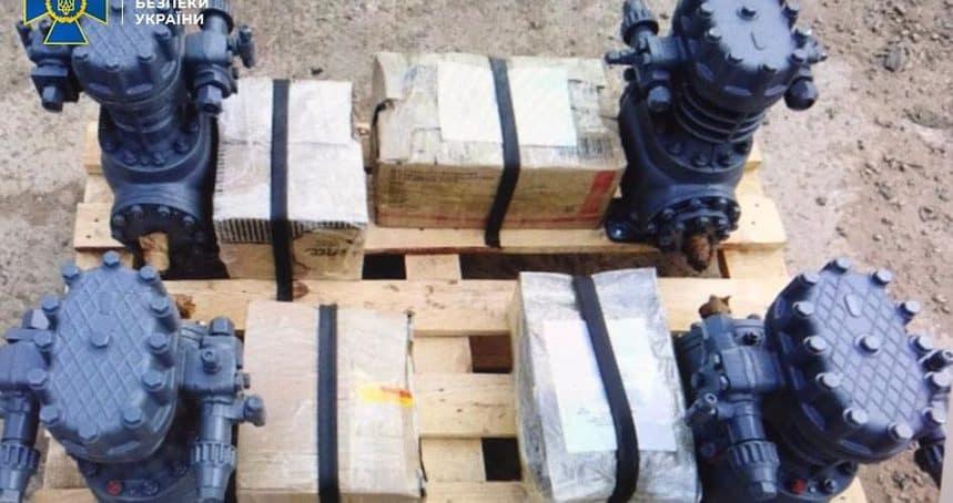 Контррозвідка СБУ зупинила експорт українських агрегатів для кораблів ВМФ РФ