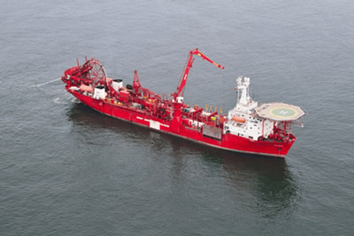 Судно GSP Falcon транспортує врятований екіпаж до порту Dana Pasageri Port Constanța